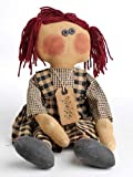 19 Inch Tall Raggedy Penelope Doll - Vintage Look Rag Doll - Finished Product