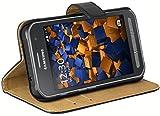 mumbi Ledertasche im Bookstyle für Samsung Galaxy Xcover 3