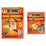 Combination Pack -Hot Hands Hand Warmers and Foot Warmers 6 Pairs of each