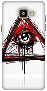 The Racoon Lean Doodler hard plastic printed back case / cover for Samsung Galaxy A5(2016)