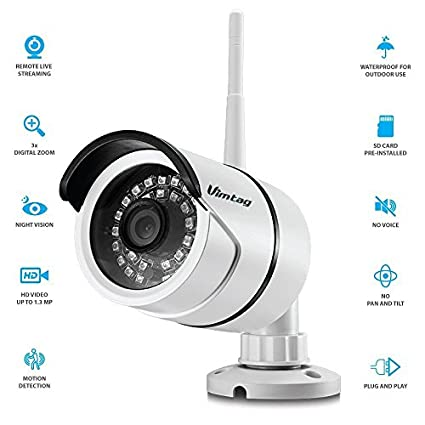 Vimtag B1-S WiFi Surveillance Camera