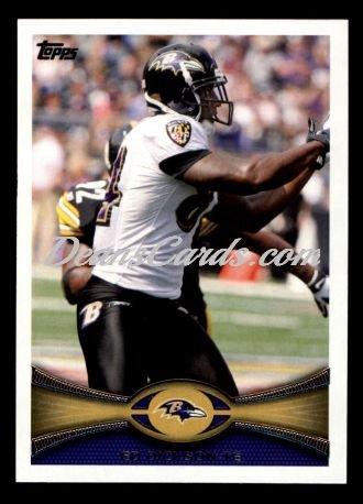 2012 Topps # 36 Ed Dickson Baltimore Ravens (Football Card) Dean'S Cards 8 - Nm/Mt