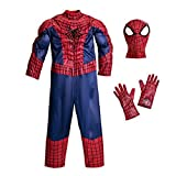 Disney - The Amazing Spider-man Deluxe Costume for Boys - Size 7/8 - NEW