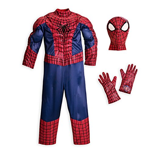 Disney - The Amazing Spider-man Deluxe Costume for Boys - Size 5/6 - NEW