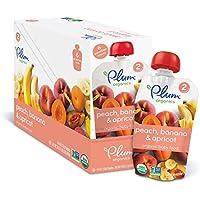 Plum Organics Stage 2 Baby Food 12-Packs: Extra 30% off + 5% off