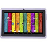 "7"" inch Touch Screen Dual core Allwinner A23 1.5GHz CPU Android 4.2.2 Tablet PC Dual camera 4GB HDD 512MB WiFi (Purple)"