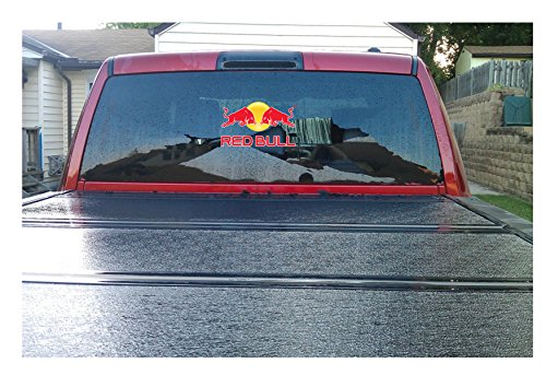 Large Red Bull ,Truck, Suv,car Back Window Decal Sticker (12