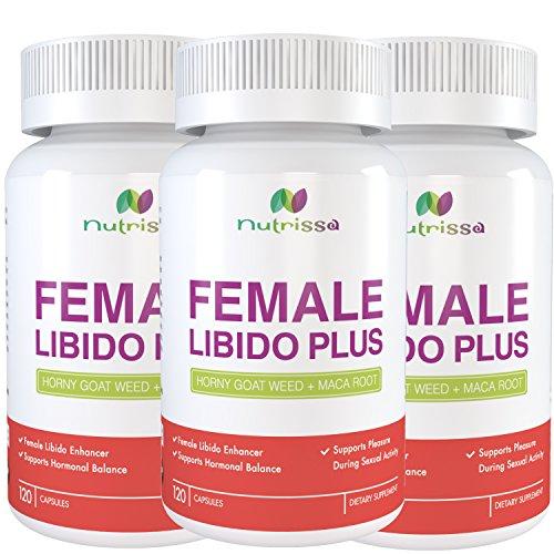 Natural Libido Enhancers : Female libido enhancer horny goat weed maca root