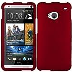 HTC One M7 Red Snap On Case, lightwei...