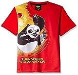 Kung Fu Panda Boys' T-Shirt (KFPTEE004_Red_2 - 3 Years)