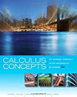 Calculus Concepts: An Informal Approach to the Mathematics of Change, 5th Edition ebook download