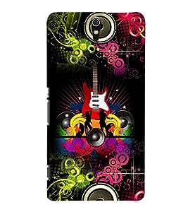 FUSON 3D Designer Back Case Cover foR Sony Xperia C5 D9766