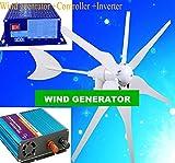 GOWE boat wind turbine 300w 220v/110w/230v/240v (wind generator 300w+controller300w +300w pure sine inverter )