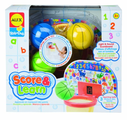 Basketball Bath Toy front-150905
