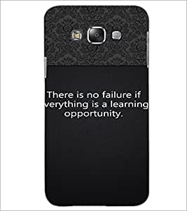 Printdhaba Quote D-2648 Back Case Cover For Samsung Galaxy A8