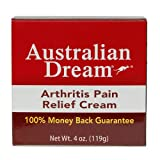 Australian Dream Arthritis Pain Relief Cream, 4 Ounce