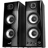 Genius SP-HF1800A 50 W Three-way Hi-Fi Wood Speakers