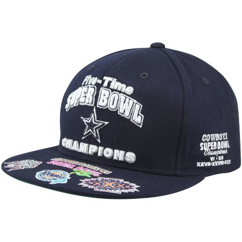 NFL Dallas Cowboys Commemorative Snapback Adjustable Hat - Navy Blue at Amazon.com