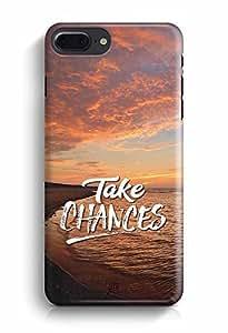 YuBingo Take Chances Designer Mobile Case Back Cover for Apple iPhone 7 Plus