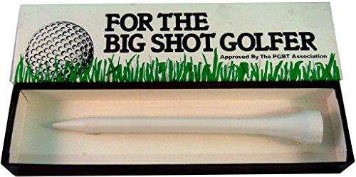 Big Shot Golfer Giant Golf Tee Gag Joke 8 Inches NEW
