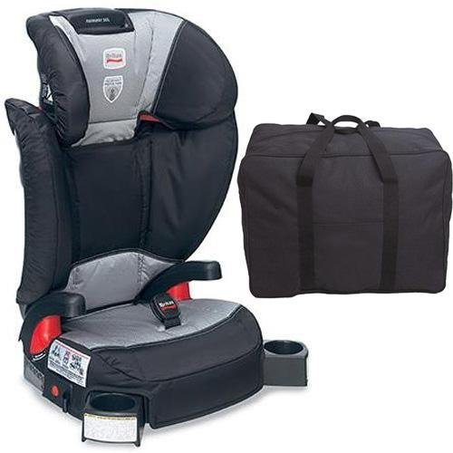 Britax Parkway Sgl - Booster Seat - With A Car Seat Travel Bag Phantom front-756943