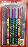Cars2 Disney Pixar Set of 5 Stick Pens (Black Ink)