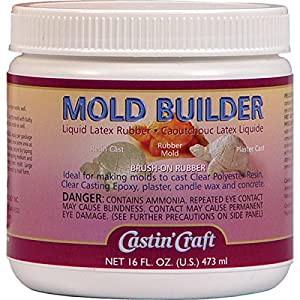 Amazon Com Mold Builder Liquid Latex Rubber 16oz 473ml