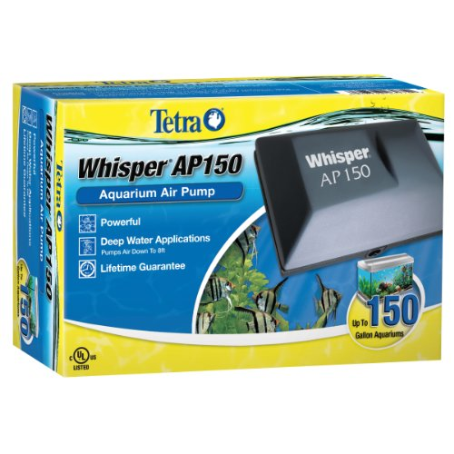 Tetra 26075 Whisper Aquarium Air Pump AP150, up to 150-Gallon (Air Pumps For Fish Tanks compare prices)
