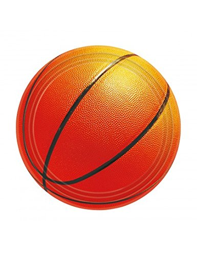 Basketball Fan Dessert Plates 8ct - 1