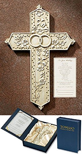 Great Tomaso Wedding Gift Wall Cross 7.5