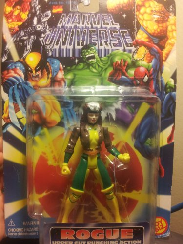 Marvel Universe X-MEN: ROGUE Upper Cut Punching Action (Marvel Universe Rogue compare prices)