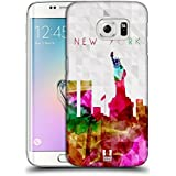 Samsung Galaxy S6 Edge , Statue Of Liberty New York Usa : Head Case Designs Statue Of Liberty New York Usa Watercoloured...
