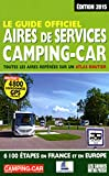Le Guide officiel Aires de services Camping-car 2015