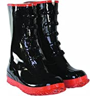 Custom Leathercraft R22012 5-Buckle Rubber Overshoe Boot-SZ 12 5-BUCKLE BOOT