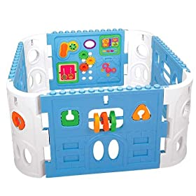 Pavlovz Toyz Electronic Interactive Activity Baby Playpen