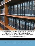 img - for Anmerkungen Zur Ilias: (a. B 1-483. G.) Nebst Einigen Excursen : Ein H lfsbuch F r Das Verst ndnis Des Dichters  berhaupt (German Edition) book / textbook / text book