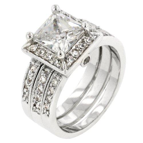 ISADY Paris Ladies Ring cz diamond ring Bridal