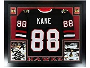 Buy Patrick Kane Autographed Jersey - Stanley Cup Framed Coa - PSA DNA Certified - Autographed NHL... by Sports Memorabilia