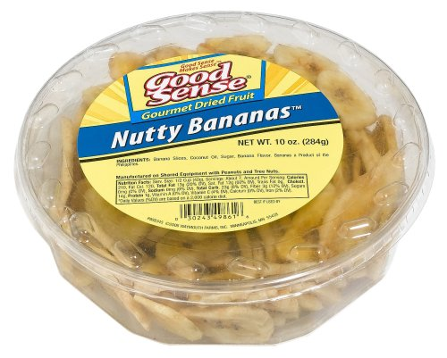 Buy Good Sense Tubs, Nutty Bananas, 10-Ounce Bags (Pack of 8) (Good Sense, Health & Personal Care, Products, Food & Snacks)