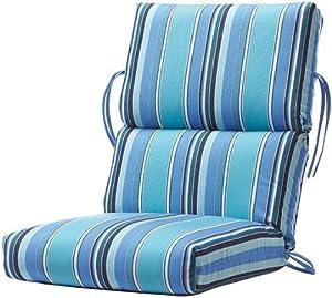Amazon Bullnose High back Outdoor Chair Cushion 4