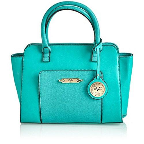 5d16f6e4110a 51uptqemu0l. V1969 Italia Womens Designer Concordia Satchel Handbag by VERSACE  19.69 ABBIGLIAMENTO ...
