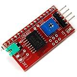 1602LCD Display IIC/I2C/TWI/SP  I Serial Interface Board Module Port For Arduino