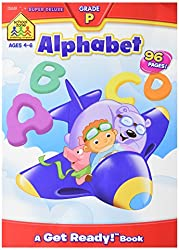 School Zone Alphabet Grade P Super Deluxe Workbook