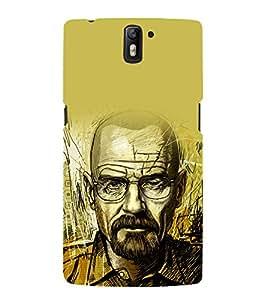 printtech Heisenberg Bad Back Case Cover for OnePlus One / One plus one / Oneplus 1 / One Plus 1