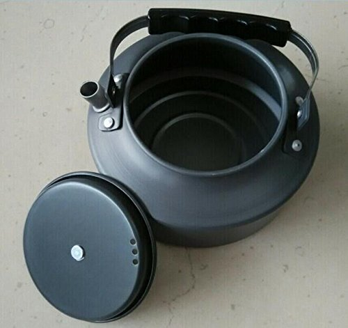 Drhob Outdoor camping camping kettle boils water kettle 1.1 l Coffeepot convenient aluminum kettle