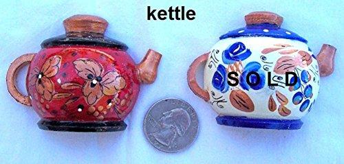 Refrigerator Magnet Russian Hand Made * Kettle / Tea Pot