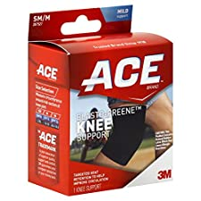 ACE Knee Support, Elasto-Preen, SM/M, Mild Support, 1 support