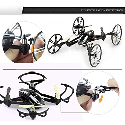 Walmart Search Items Toys Quadcopter : Babrit elite axis gyro rc quadcopter ghz in