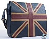 Vintage Union Jack Messenger Bag | Faux Leather | High Quality Bag | London Fashion