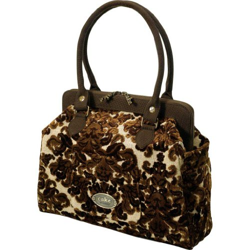 Petunia Pickle Bottom: Cake Cosmopolitan Carryall Tweed – Chocolate Decadence Diaper Bag
